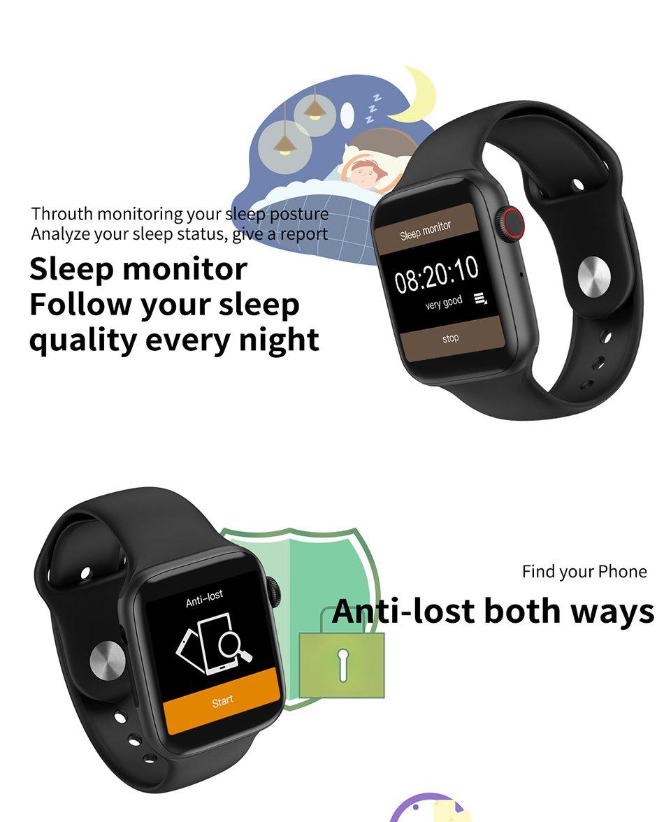 iwo 8 Waterproof Smart Watch - 50%OFF - Last Day Promotion